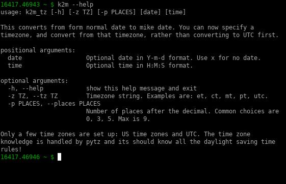 mikualtor command line interface component